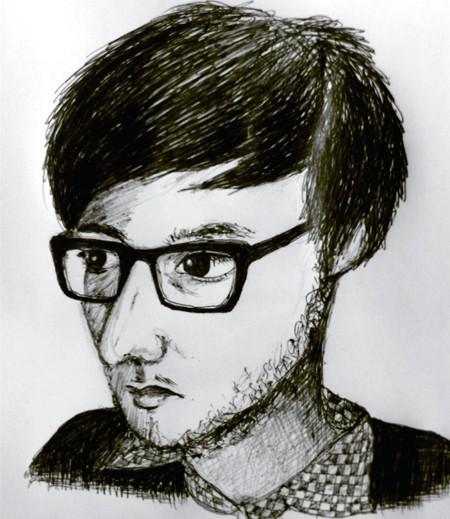 Hlynur Gudjonsson (drawn by Haruko)